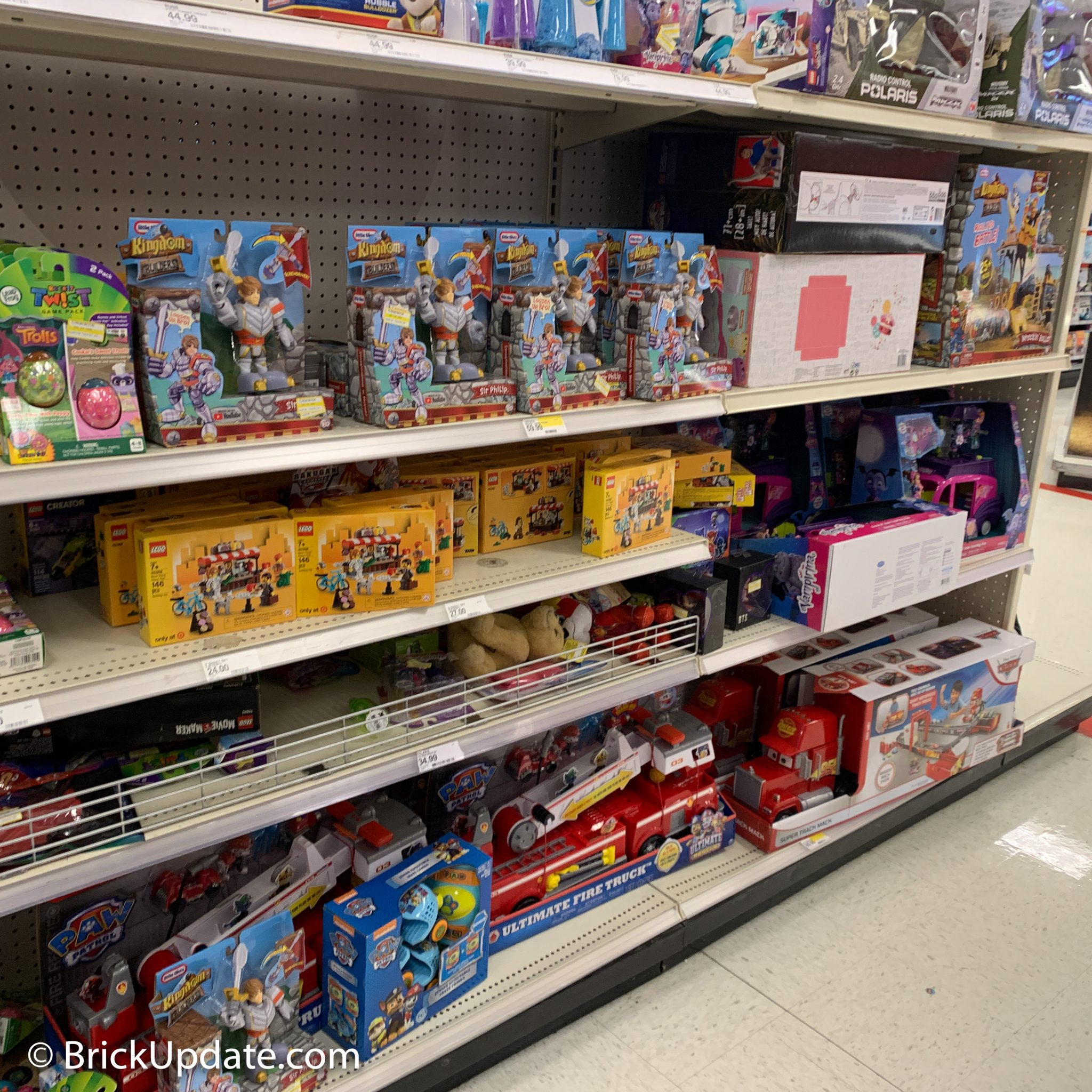 LEGO at Target, January 2020